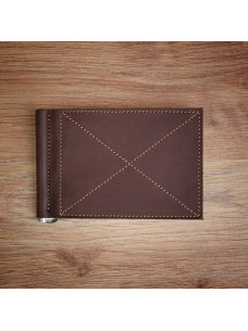 Futlers Money Clip Brown
