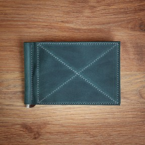 futlers money clip green
