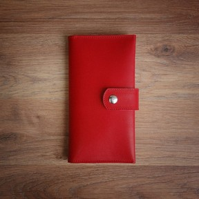 futlers long wallet red