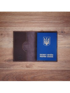 Futlers Passport Cover Brown