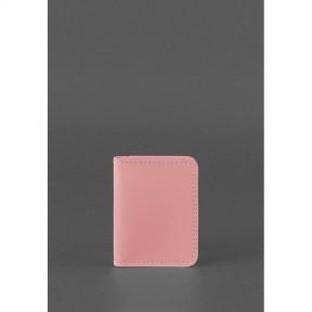 blanknote женская кожаная обложка для водительских прав 4.0 розовая