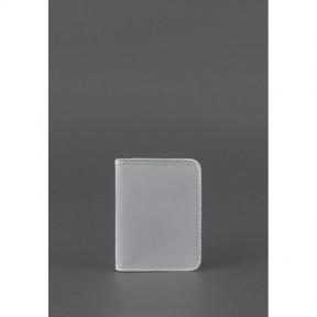 blanknote женская кожаная обложка для водительских прав 4.0 серая
