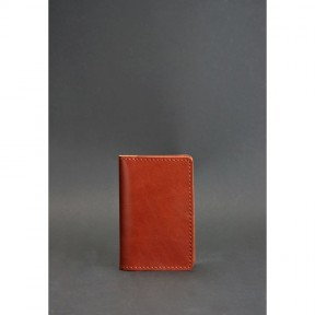blanknote кожаный кард-кейс 6.0 светло-коричневый