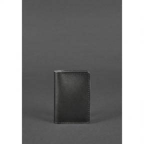 blanknote кожаный кард-кейс 6.0 черный