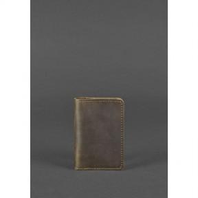 blanknote кожаный кард-кейс 6.0 темно-коричневый