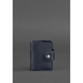 blanknote кожаный кард-кейс 7.1 (книжечка) темно-синий