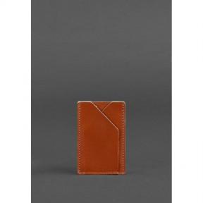 blanknote кожаный кард-кейс 8.0 светло-коричневый