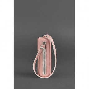 blanknote женская кожаная ключница 3.0 тубус розовая