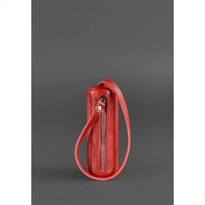 blanknote женская кожаная ключница 3.0 тубус красная