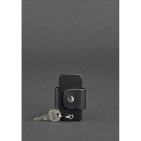 blanknote кожаная ключница смарт-кейс 4.0 черная