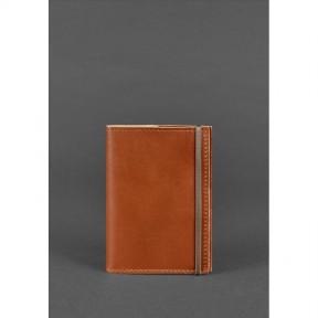 blanknote кожаная обложка для паспорта 1.0 светло-коричневая