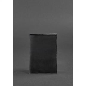 blanknote кожаная обложка для паспорта 1.2 черная