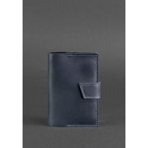 blanknote кожаная обложка для паспорта 4.0 синяя