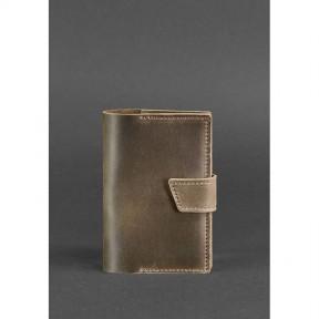 blanknote кожаная обложка для паспорта 4.0 темно-коричневая