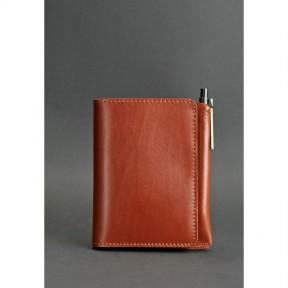 blanknote кожаное портмоне 2.0 светло-коричневое