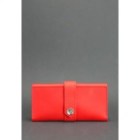 blanknote кожаное женское портмоне 3.0 коралловое