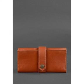 blanknote кожаное женское портмоне 3.0 светло-коричневое