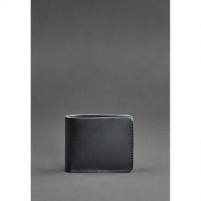blanknote мужское кожаное портмоне 4.1 (4 кармана) черное