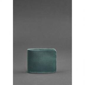 blanknote мужское кожаное портмоне 4.1 (4 кармана) зеленое