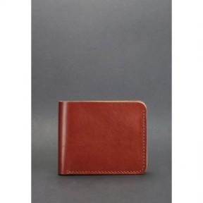 blanknote мужское кожаное портмоне 4.1 (4 кармана) светло-коричневое