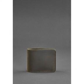 blanknote мужское кожаное портмоне 4.1 (4 кармана) темно-коричневое