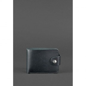 blanknote кожаное портмоне 4.3 черное