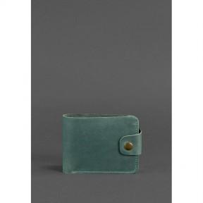 blanknote кожаное портмоне 4.3 зеленое