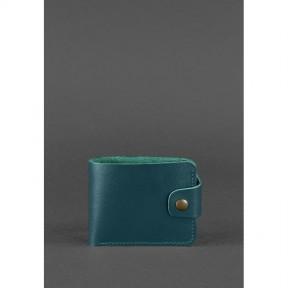 blanknote женское кожаное портмоне 4.3 зеленое