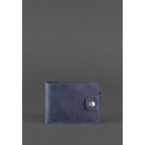 blanknote кожаное портмоне 4.3 синее