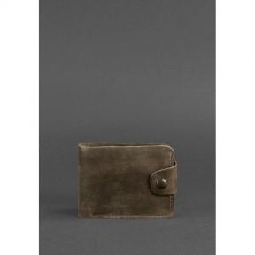 blanknote кожаное портмоне 4.3 темно-коричневое