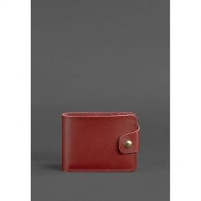 blanknote женское кожаное портмоне 4.3 бордовое