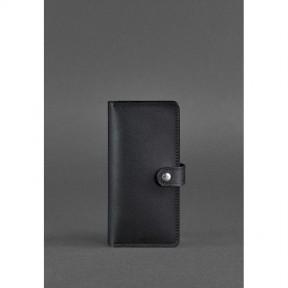 blanknote кожаное женское портмоне 7.0 черное