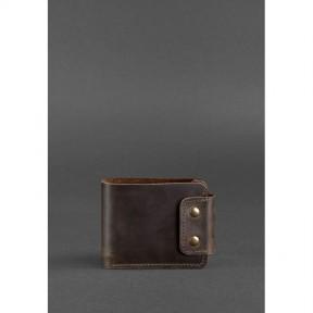 blanknote мужское кожаное портмоне zeus 9.0 темно-коричневое