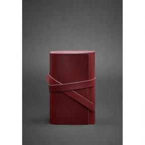 blanknote женский кожаный блокнот (софт-бук) 1.0 бордовый