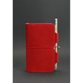 blanknote женский кожаный блокнот (софт-бук) 3.0 коралловый