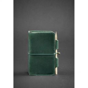 blanknote кожаный блокнот (софт-бук) 3.0 зеленый