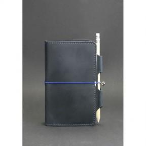 blanknote кожаный блокнот (софт-бук) 3.0 синий