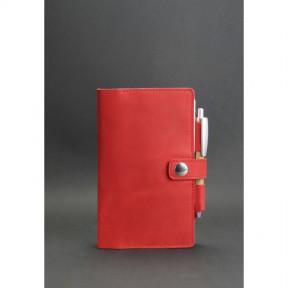 blanknote женский кожаный блокнот (софт-бук) 4.0 коралловый