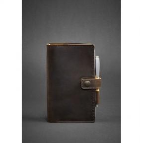 blanknote кожаный блокнот (софт-бук) 4.0 темно-коричневый