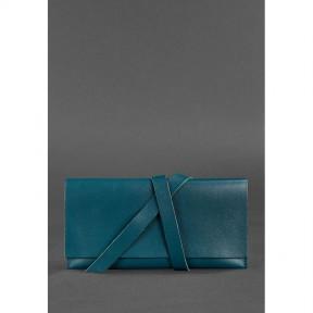blanknote кожаный женский тревел-кейс voyager 1.0 зеленый