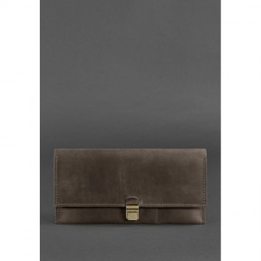 blanknote кожаный тревел-кейс journey 2.0 темно-коричневый