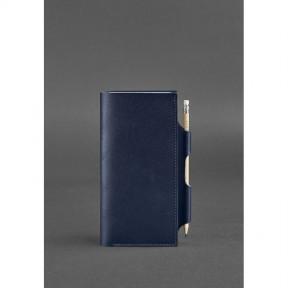 blanknote кожаный тревел-кейс 3.0 темно-синий