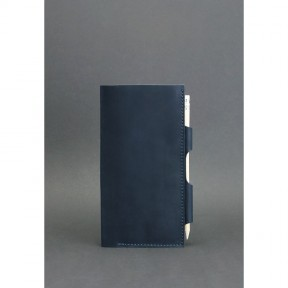 blanknote кожаный тревел-кейс 3.0 синий