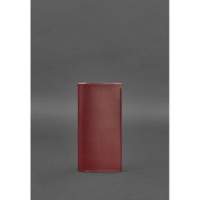 blanknote кожаный женский тревел-кейс 3.1 бордовый краст