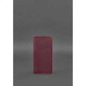 blanknote кожаный женский тревел-кейс 3.1 бордовый crazy horse