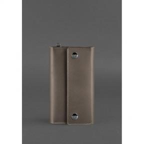 blanknote кожаный клатч-органайзер (тревел-кейс) 5.0 темно-бежевый