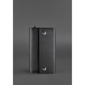 blanknote кожаный клатч-органайзер (тревел-кейс) 5.0 черный