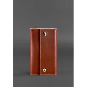 blanknote кожаный клатч-органайзер (тревел-кейс) 5.0 светло-коричневый