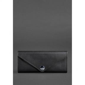 blanknote женский кожаный кошелек керри 1.0 черный krast