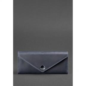blanknote женский кожаный кошелек керри 1.0 синий
